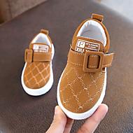 baratos Sapatos de Menino-Para Meninos Sapatos Couro Ecológico Primavera Verão Conforto Tênis Caminhada para Adolescente Preto / Marron / Verde Escuro