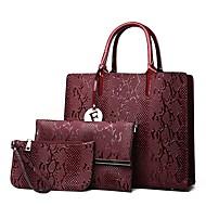 f9c7894750c cheap Bags-Women  039 s Bags Genuine Leather Bag Set 3 Pcs Purse