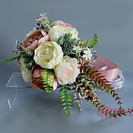 baratos Mais Populares-Flores artificiais 1 Ramo Clássico / Solteiro (L150 cm x C200 cm) Casamento / buquês de Noiva Lírios / Flores eternas Flor de Mesa