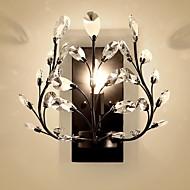 billige Krystall Vegglys-Nytt Design Moderne / Nutidig Vegglamper Stue / Soverom Metall Vegglampe 220-240V 60 W