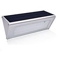 billige Utendørs Lampeskjermer-1pc 6.8 W Solar Wall Light Solar / Vanntett / Lysstyring Hvit 3.2 V Utendørsbelysning / Courtyard / Have