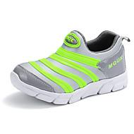baratos Sapatos de Menino-Para Meninos Sapatos Tule / Couro Ecológico Primavera Verão Conforto Mocassins e Slip-Ons Caminhada para Adolescente Fúcsia / Azul / Rosa