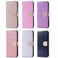 billiga Mobil cases & Skärmskydd-fodral Till Huawei P20 Pro / P20 lite Korthållare / Strass / med stativ Fodral Glittrig Hårt PU läder för Huawei P20 / P10 Lite / P10