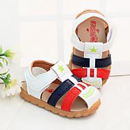 baratos Sapatos de Menina-Para Meninos / Para Meninas Sapatos Microfibra Verão Primeiros Passos Sandálias Velcro para Bebê Branco / Amarelo / Azul