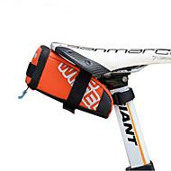hesapli Bisiklet Sele Çantaları-0.6 L Bisiklet Sele Çantaları Taşınabilir, Yağmur-Geçirmez, Kolay Takılabilen Bisiklet Çantası Deri / PVC / 400D naylon Bisikletçi Çantası Bisiklet Çantası Bisiklet
