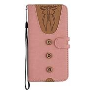 billiga Mobil cases & Skärmskydd-fodral Till Apple iPhone X / iPhone 8 Plus Plånbok / Korthållare / med stativ Fodral Sexig kvinna Hårt PU läder för iPhone X / iPhone 8 Plus / iPhone 8