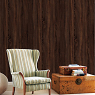 billige Tapet-bakgrunns Vinylal Tapetsering - Selvklebende Stripet / Art Deco