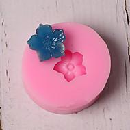 billige Bakeredskap-Bakeware verktøy Silikon Ferie / 3D-tegneseriefigur / Kreativ Kake / Multifunktion / Sjokolade Rund Cake Moulds 1pc