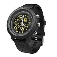 tanie Inteligentne zegarki-Inteligentny zegarek NX02 na Android 4.3 i nowszy / iOS 7 i nowsze Wodoodporne / Spalone kalorie / Śledzenie odległości / Krokomierze / Informacje Stoper / Krokomierz / Powiadamianie o połączeniu