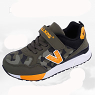 baratos Sapatos de Menino-Para Meninos Sapatos Com Transparência Outono & inverno Conforto Tênis Presilha para Adolescente Preto / Azul Escuro / Verde