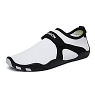 baratos Sapatos Masculinos-Homens Com Transparência Primavera Verão Conforto Tênis Água Branco / Preto / Roxo