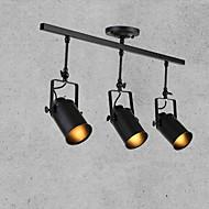 3 Light Spot Light Downlight Painted Finishes Metal 110 120V / 220 240V  Bulb Not Included