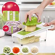 baratos Utensílios de Cozinha-Utensílios de cozinha Aço Inoxidável + Plástico ABS Multifunções / Gadget de Cozinha Criativa Peeler & Grater Uso Diário / Para utensílios de cozinha 1pç