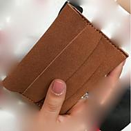 お買い得  小銭入れ-女性用 バッグ PU 小銭入れ ジッパー グリーン / ピンク / イエロー