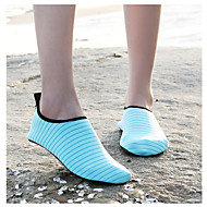 baratos Sapatos Masculinos-Homens Solas Claras Tecido elástico Primavera Verão Tênis Tênis Anfíbio Fúcsia / Azul / Azul Claro