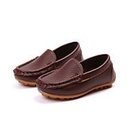 baratos Sapatos de Menina-Para Meninas Sapatos Couro Ecológico Outono & inverno Conforto Mocassins e Slip-Ons Caminhada para Infantil Azul / Rosa claro / Castanho Escuro