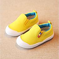 tanie Obuwie dziewczęce-Dla chłopców / Dla dziewczynek Obuwie Płótno Wiosna & jesień Comfort Buty płaskie Gore na Brzdąc Yellow / Czerwony / Light Blue