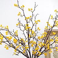 billige Kunstig Blomst-Kunstige blomster 1 Afdeling Klassisk Moderne / Nutidig / minimalistisk stil Evige blomster Gulvblomst
