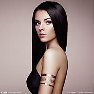 3 Bundler Peruviansk hår Lige 8A Menneskehår Menneskehår, Bølget Udvidelse 8-28 inch Naturlig Menneskehår Vævninger Sexet dame Bedste kvalitet Hot Salg Menneskehår Extensions Dame