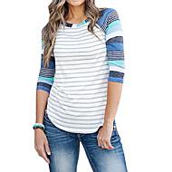 Γυναικεία T-shirt Ριγέ Θαλασσί M / πρόστιμο Stripe