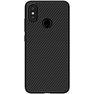 billiga Mobil cases & Skärmskydd-Nillkin fodral Till Xiaomi Mi 8 Läderplastik Skal Linjer / vågor Hårt Kolfiber för Xiaomi Mi 8