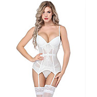 Damen Sexy Anzüge Nachtwäsche - Spitze Solide / Halter