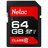 baratos Cartões de Memória-Netac 64GB Cartão SD cartão de memória UHS-I U1 64
