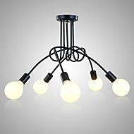billige Taklamper-5-Light Takplafond Omgivelseslys 110-120V / 220-240V Pære ikke Inkludert