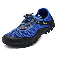baratos Sapatos Masculinos-Homens Com Transparência Verão Conforto Tênis Água Cinzento / Azul / Khaki