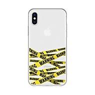 billiga Mobil cases & Skärmskydd-fodral Till Apple iPhone X / iPhone 8 Plus Mönster Skal Linjer / vågor Mjukt TPU för iPhone X / iPhone 8 Plus / iPhone 8