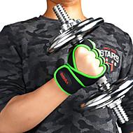 baratos Equipamentos & Acessórios Fitness-Luvas de levantamento de peso Com 2 pcs Microfibra Protetores de Pulso Embutidos, Ajustável Proteção total da palma e aderência extra, Respirável, Anti-desgaste Para Exercício e Atividade Física