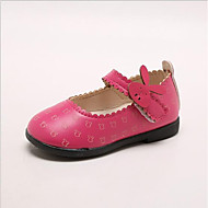 baratos Sapatos de Menino-Para Meninos Sapatos Couro Ecológico Primavera & Outono Conforto Rasos para Branco / Pêssego / Rosa claro