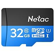 baratos Cartões de Memória-Netac 32GB TF cartão Micro SD cartão de memória class10 32