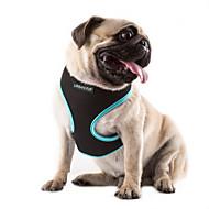 お買い得  -ネコ 犬 ハーネス 調整可能 / 引き込み式 高通気性 ソリッド ナイロン メッシュ オレンジ ローズ グリーン ブルー
