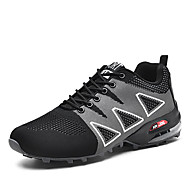 baratos Sapatos Masculinos-Homens Sapatos Confortáveis Tricô Primavera Esportivo / Vintage Tênis Aventura Massgem Preto / Vermelho / Azul
