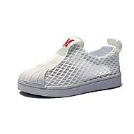baratos Sapatos de Menino-Para Meninos / Para Meninas Sapatos Com Transparência Verão Conforto Tênis Vazados para Infantil Branco