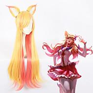 Cosplay Paruky Cosplay cosplay Zlatá Anime Cosplay Paruky 30 inch Horkuvzdorné vlákno Vše Halloween paruky