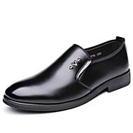 baratos Sapatos Masculinos-Homens Couro Ecológico Primavera / Outono Sapatos formais Mocassins e Slip-Ons Preto