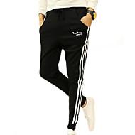 Herre Basale Joggingbukser Bukser Ensfarvet