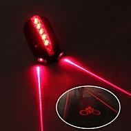 billige Sykkellykter og reflekser-sikkerhet lys / Baklys LED Sykkellykter Sykling Vanntett, Justerbar, Kul 50 lm 2 AAA Batterier Rød Sykling