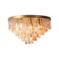 billige Taklamper-QIHengZhaoMing 6-Light Takplafond Omgivelseslys 110-120V / 220-240V, Varm Hvit, Pære Inkludert