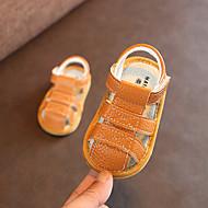 baratos Sapatos de Menino-Para Meninos / Para Meninas Sapatos Microfibra Verão Primeiros Passos Sandálias Velcro para Bebê Marron / Azul / Rosa claro