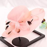 Organza Chapeaux avec Plumes / Fourrure / Fleur 1pc Mariage / Fête / Soirée Casque