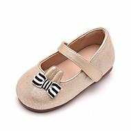 baratos Sapatos de Menina-Para Meninas Sapatos Sintéticos Primavera & Outono Sapatos para Daminhas de Honra Rasos para Dourado / Rosa claro / Vinho