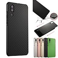billiga Mobil cases & Skärmskydd-fodral Till Huawei P20 / P20 Pro Stötsäker / Plätering Skal Enfärgad Hårt Aluminium för Huawei P20 / Huawei P20 Pro / Huawei P20 lite / P10 Plus / P10 Lite / P10