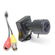 billige Overvåkningskameraer-hqcam 800tvl cmos 0.03lux sikkerhetskamera 2,8-12mm manuell zoomobjektiv 1/3 tommers kassettkamera