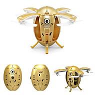 Χαμηλού Κόστους JJRC®-RC Ρομποτάκι JJRC H65 RTF 4 Kανάλια 6 άξονα 2,4 G Ελικόπτερο RC με τέσσερις έλικες Επιστροφή με ένα kουμπί / Λειτουργία άμεσου ελέγχου Ελικόπτερο RC με Tέσσερις έλικες / Τηλεχειριστήριο / έλικες