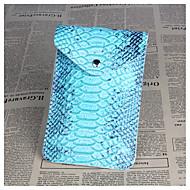 Women's Bags PU(Polyurethane) Mobile Phone Bag Zipper Sky Blue