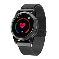 Indear R15 Pulseira inteligente Android iOS Bluetooth Monitor de Batimento Cardíaco Tela de toque Calorias Queimadas Distancia de Rastreamento Podômetro Aviso de Chamada Monitor de Atividade Monitor