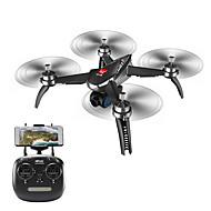 Χαμηλού Κόστους Προσφορές Μαύρη Παρασκευή-RC Ρομποτάκι MJX Bugs 5W B5W RTF 4ch 6 άξονα 2,4 G Με κάμερα HD 1080P Ελικόπτερο RC με τέσσερις έλικες Ύψος Κρατώντας / Επιστροφή με ένα kουμπί / Λειτουργία άμεσου ελέγχου Ελικόπτερο RC με T